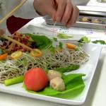 【そば学校動画】 蕎麦学校盛り付け指導