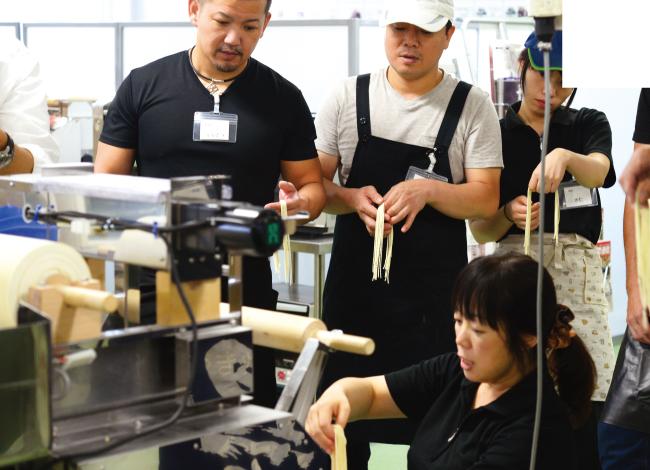 麺学校 製麺講習