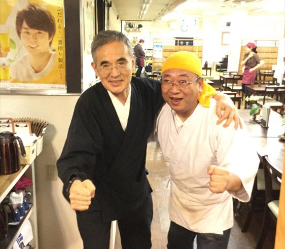 篠原様・藤井社長