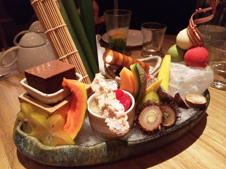 ロンドンの和食レストラン ROKA デザート