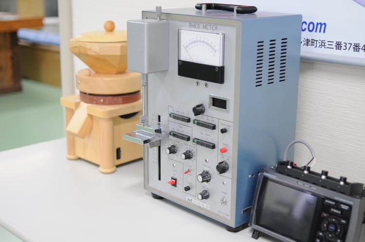 麺研究用の機器
